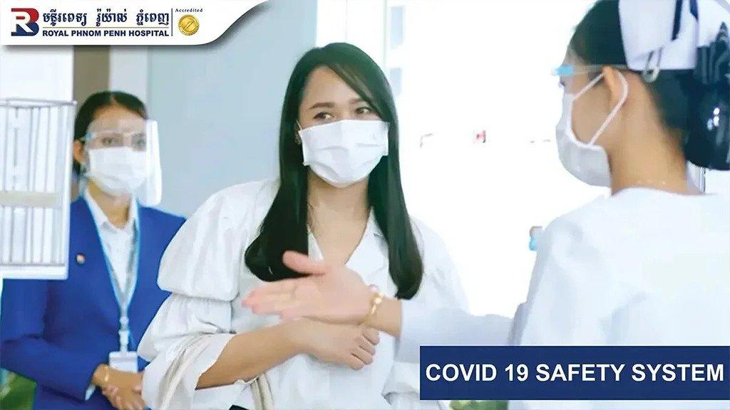 Royal Phnom Penh Hospital_Covid 19 Safety System